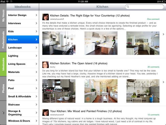 App de la semana houzz innovarq dise o render - App para diseno de interiores ...