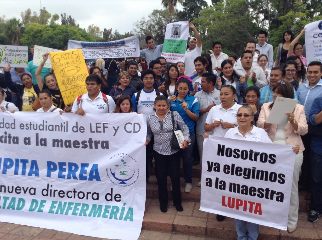 Enfermería protestas