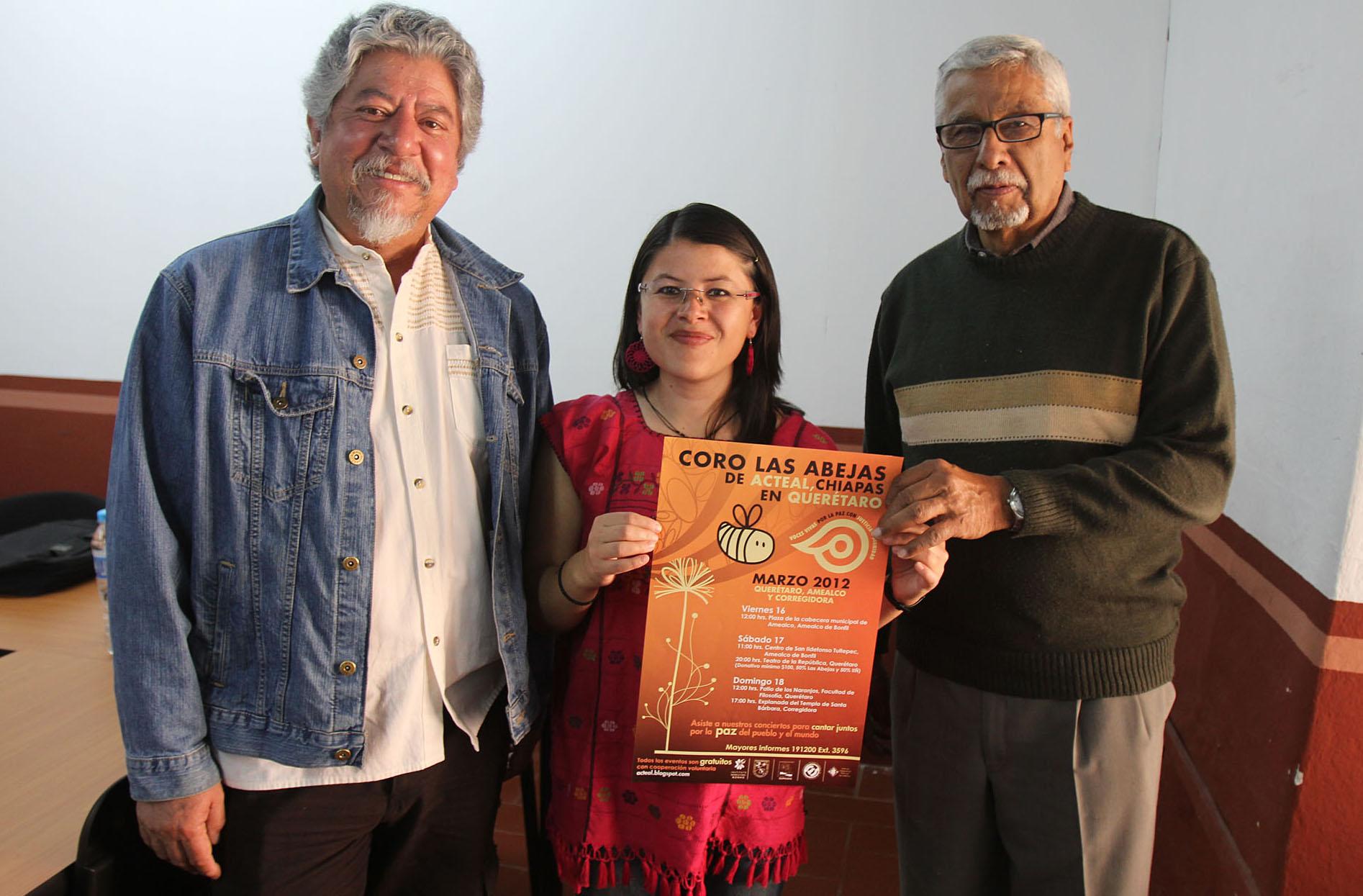 Las Abejas de Acteal harán gira por Querétaro
