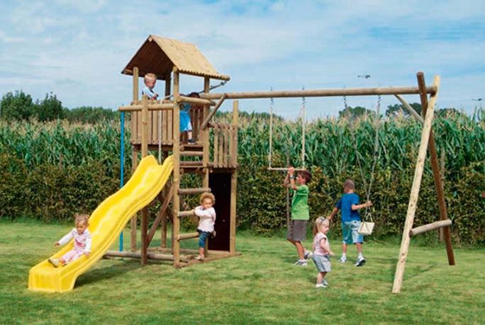 Loyola vera inaugura parque en carrillo puerto for Parque infantil jardin