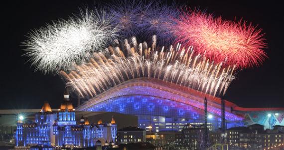 Inauguran Juegos Olímpicos de Invierno 2014 en Sochi, Rusia