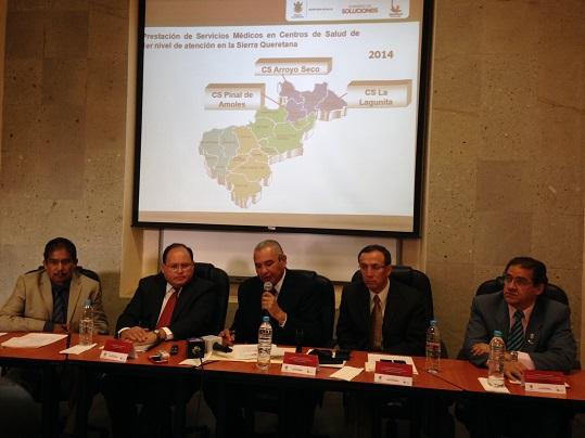 ISSSTE y Seseq signan convenio para llevar servicios a la zona serrana