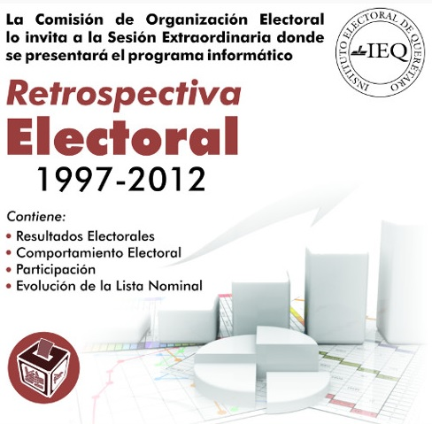 IEQ presenta documento de retrospectiva electoral 1997-2012