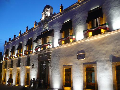 Palacio de Gobierno 2012 noche