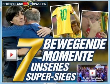 Prensa de Alemania destaca 'masacre' contra Brasil