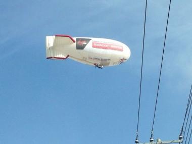Zeppelin sobrevuela Querétaro