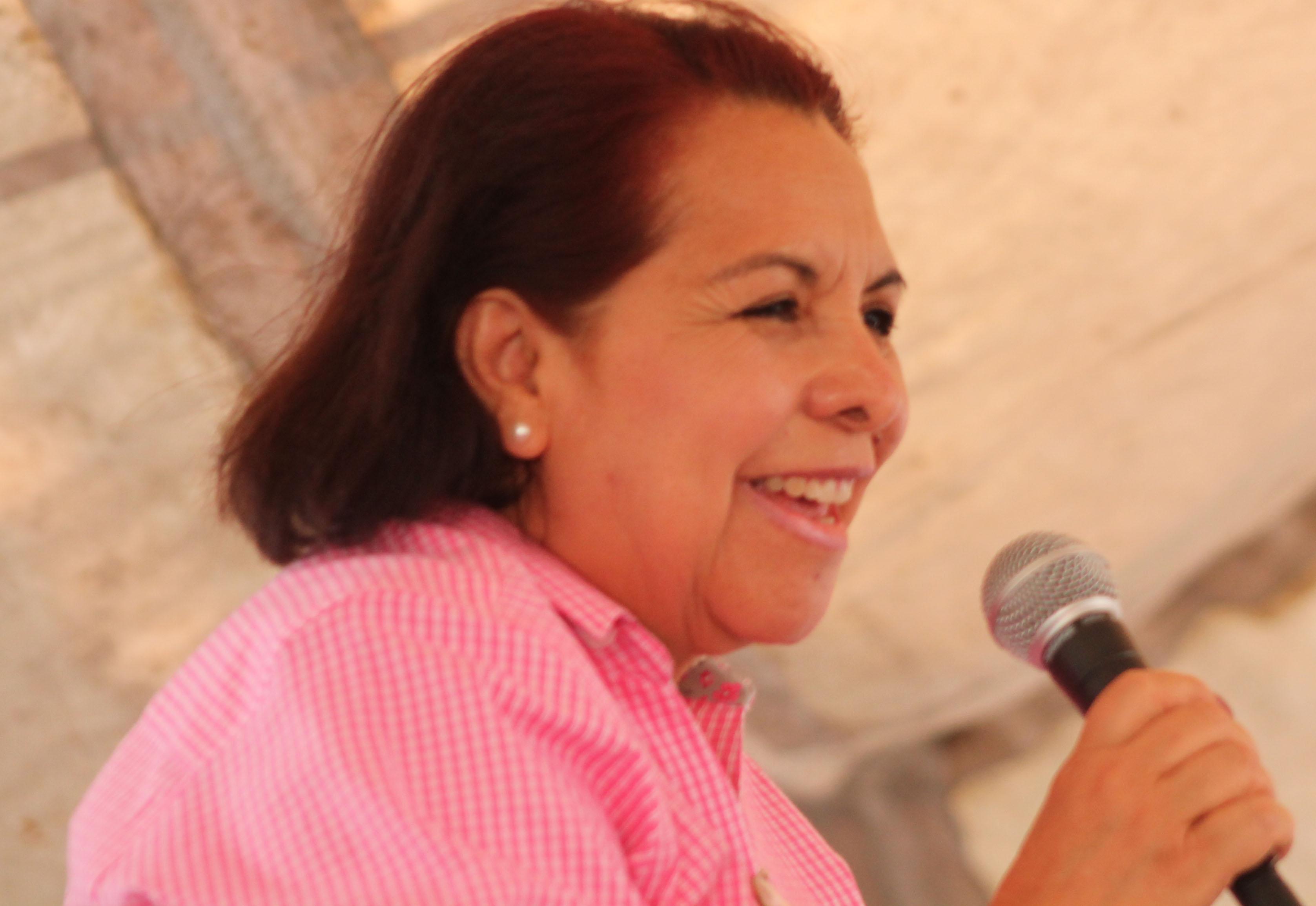 Supuesto atentado contra Pancho Domínguez es para llamar la atención: Celia Maya