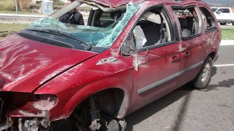 Alejandro Delgado sufre accidente automovilístico