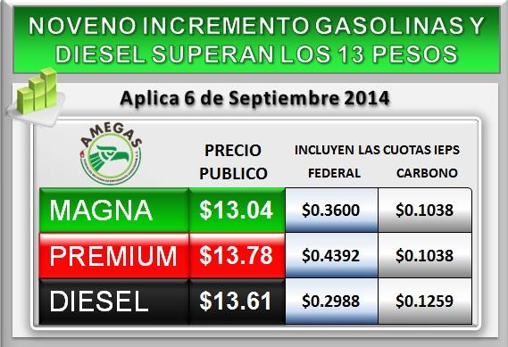 La gasolina es el gas o el líquido