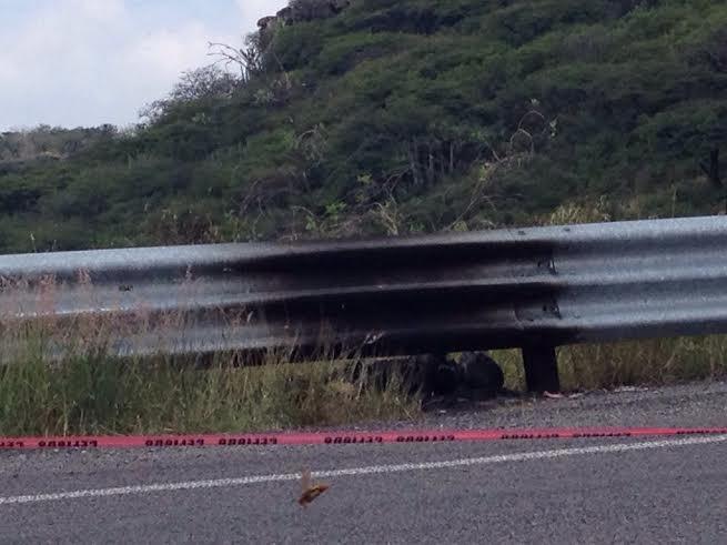 Localizan cuerpo calcinado en libramiento Sur Poniente, en Querétaro