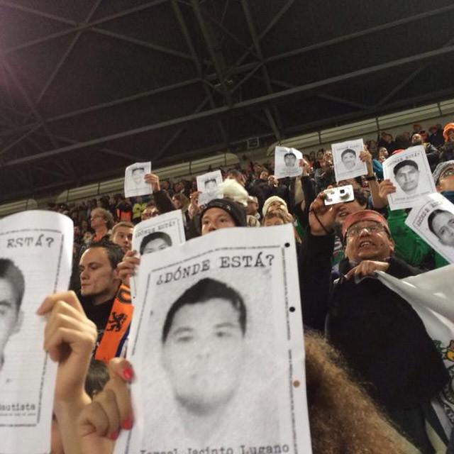 Ayotzinapa Holanda