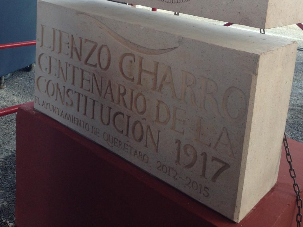Lienzo Charro Centenario 1917