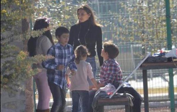 """""""Qué felicidad"""": Maude Versini al ver a sus hijos después de tres años"""