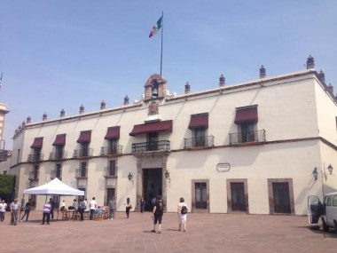 Palacio de Gobierno de Querétaro/Foto: archivo