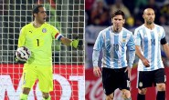 El gatillo de Leo Messi mide los reflejos de Claudio Bravo