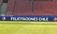 Celebran título de Chile y Argentina antes de tiempo