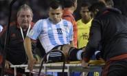 Lesión de Agüero alarma en Argentina… Y en Manchester