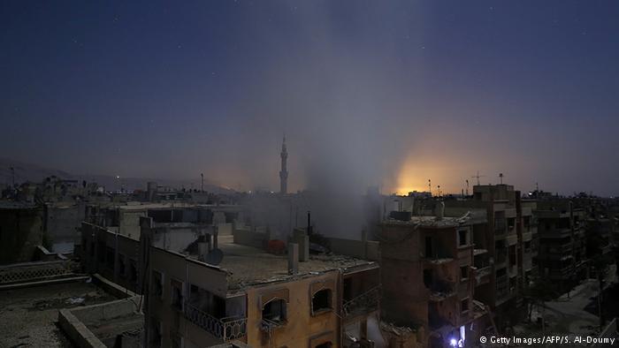 bombardeo damasco