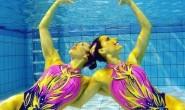 Ondinas tricolores se bañan en oro
