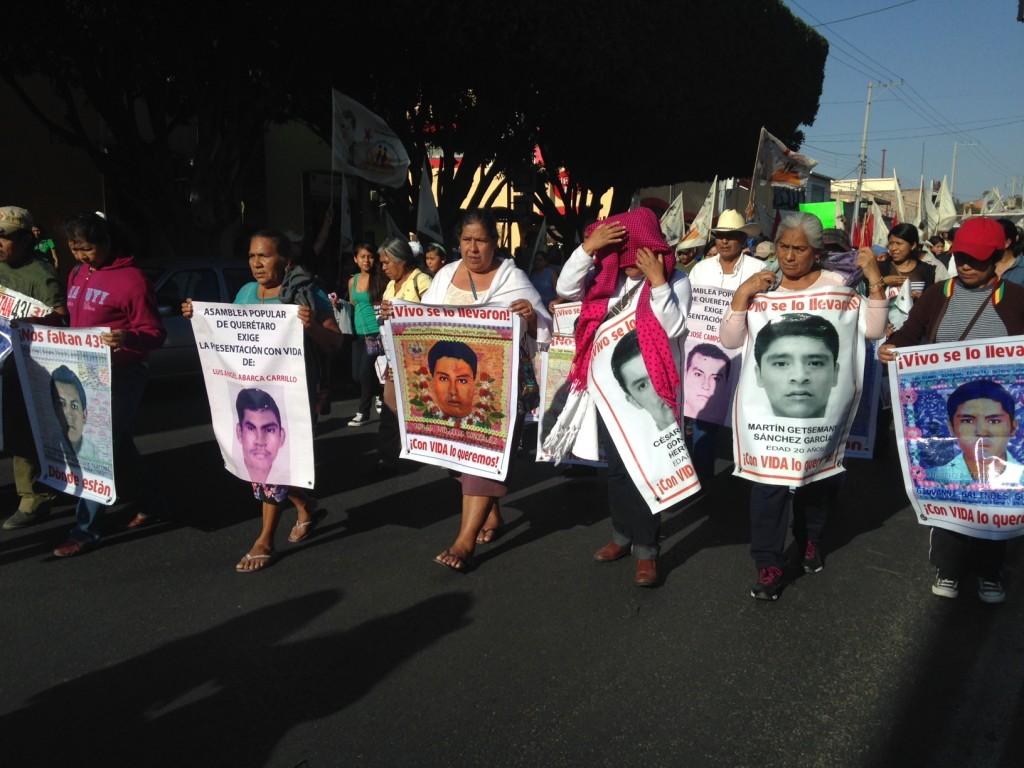 Caravana Ayotzinapa