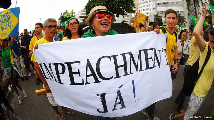 Patronales de Brasil exigen juicio político contra Rousseff