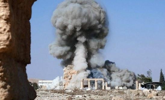Fuerza aérea rusa mata a más de 100 milicianos del Estado Islámico durante ataques en Palmira