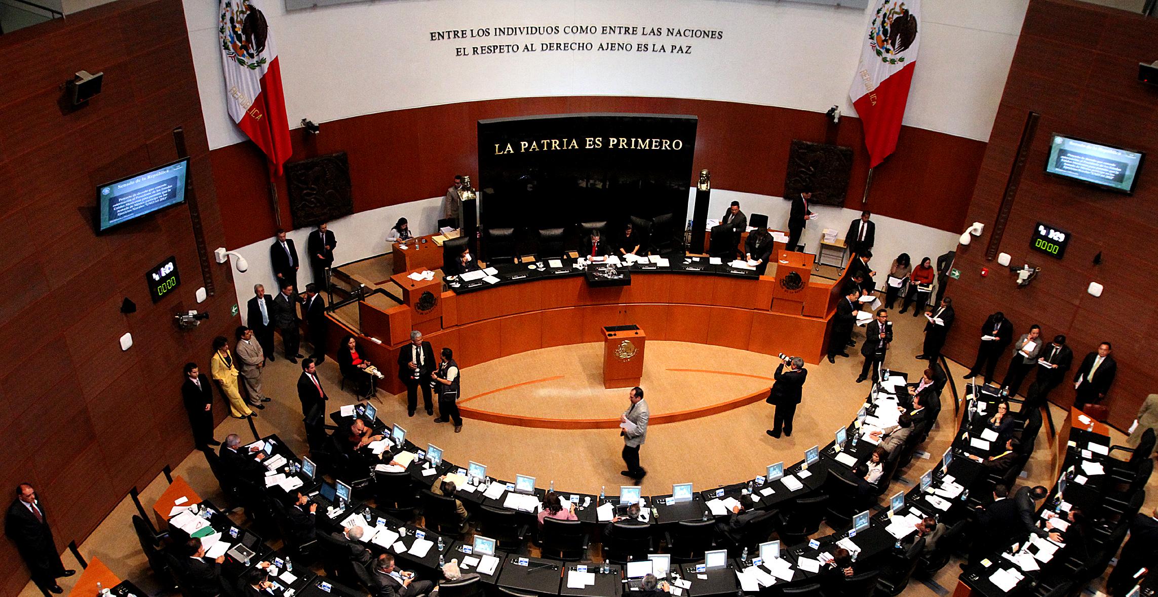 """Senadores aprueban versión incompleta de """"Ley #3de3"""""""