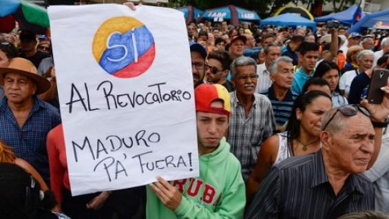 Marcha Venezuela Revocación