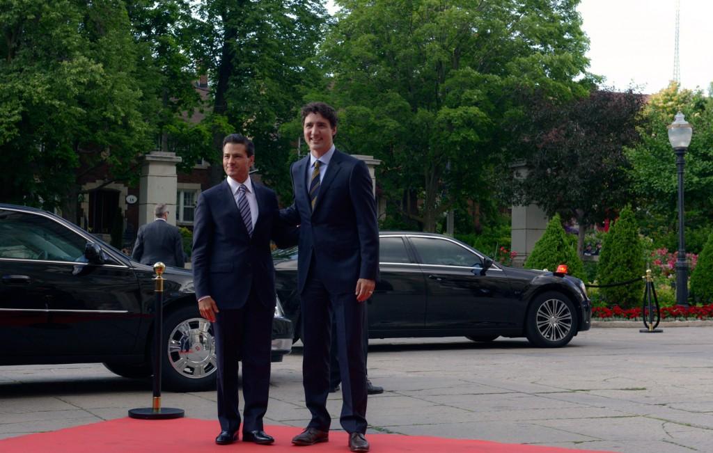 EPN y Trudeau