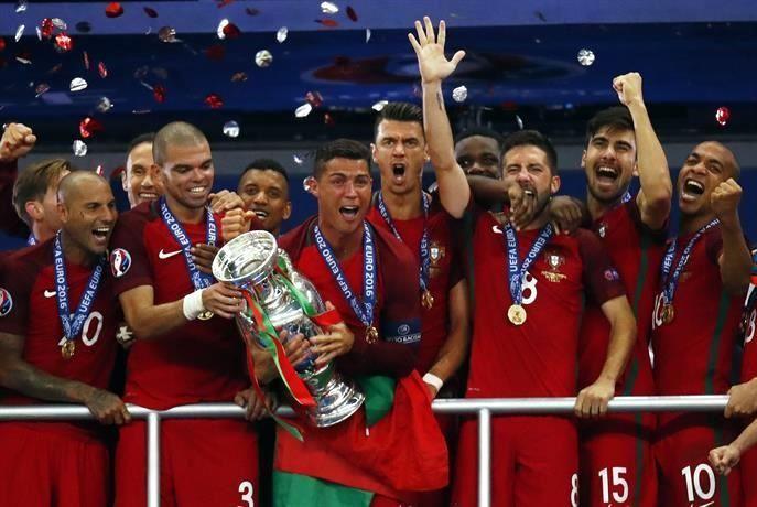 Entérate cuánto se llevaron por ganar la Eurocopa — Cristiano Ronaldo