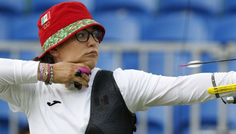 Califica arquera mexicana a octavos en Río 2016
