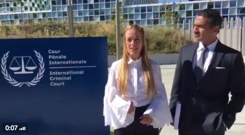 Lilian Tintori Corte Penal Internacional
