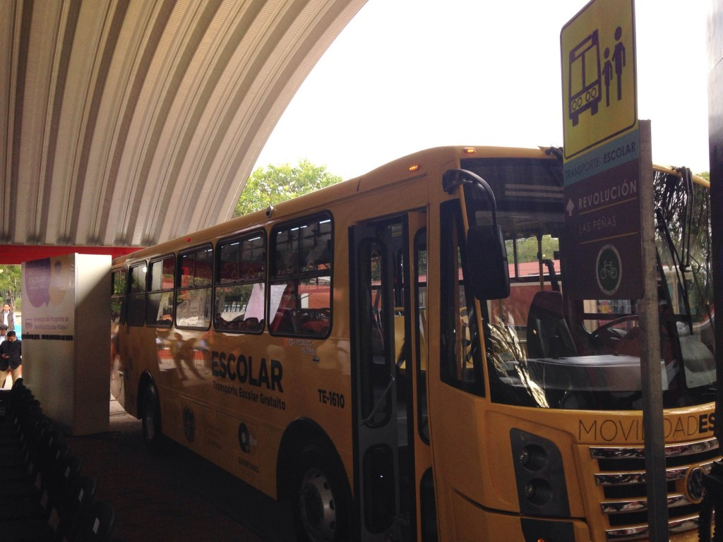 Transporte escolar gratuto