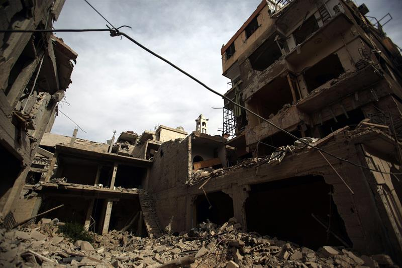 Siria ataque HARASTA