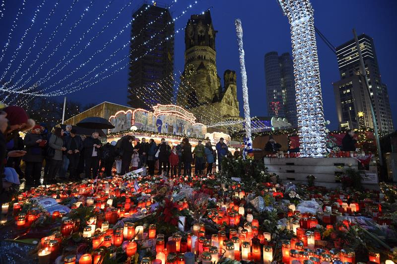 Homenaje victimas alemania