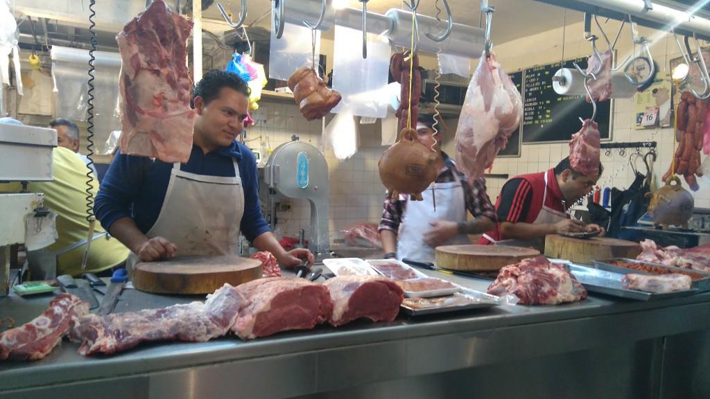 Mercado Carne Carnicería