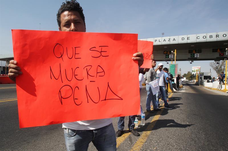 Protestas contra EPN