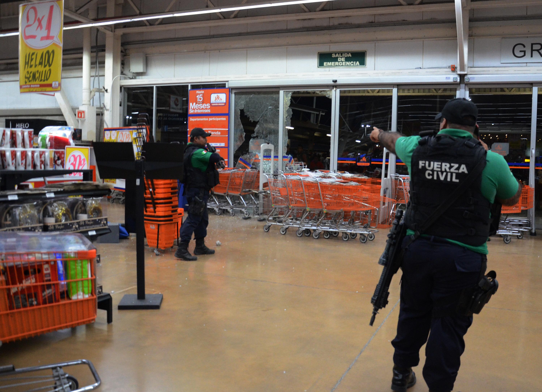 Cúpula empresarial de México exige a autoridades protección ante saqueos