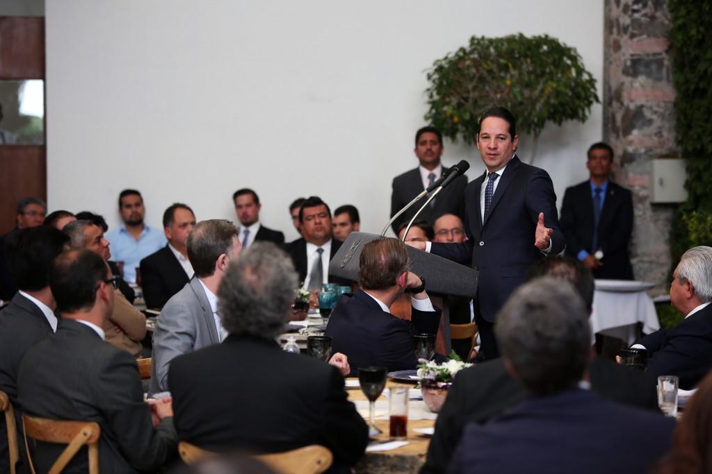 Pancho Reunión empresarios