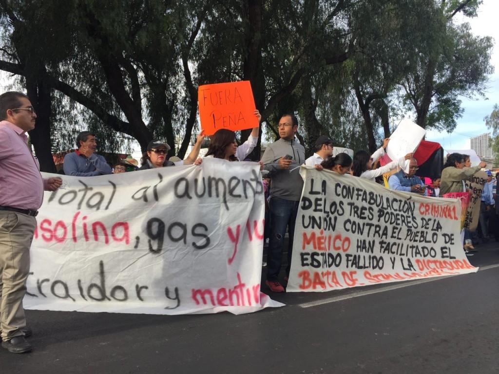 Gasolinazo marcha
