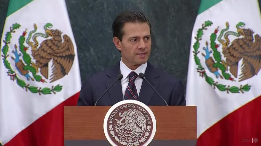 """""""Gasolinazo"""" no es producto de la Reforma Energética ni la Reforma Fiscal, afirma EPN"""