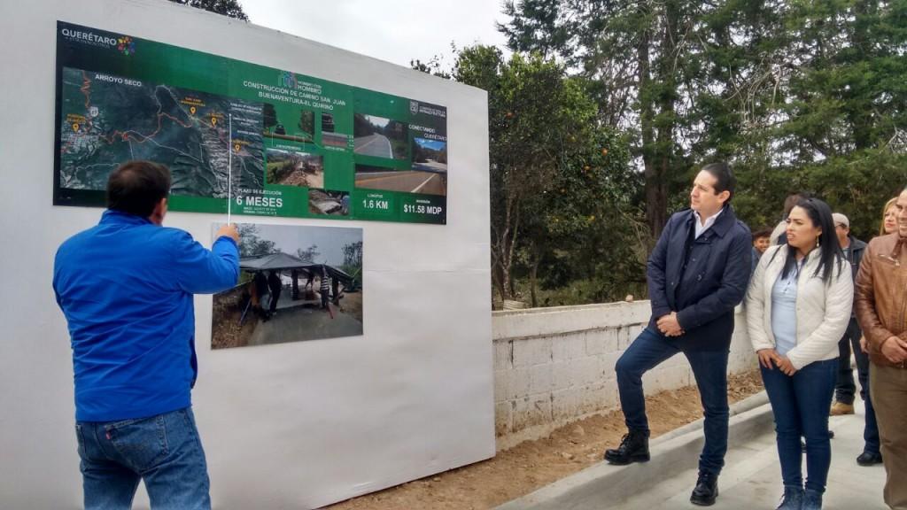 Inversión caminos Pancho Domínguez