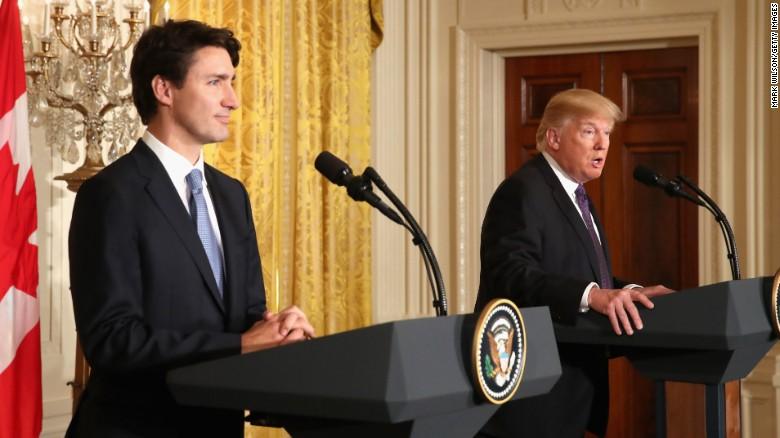 Trudeau Trump