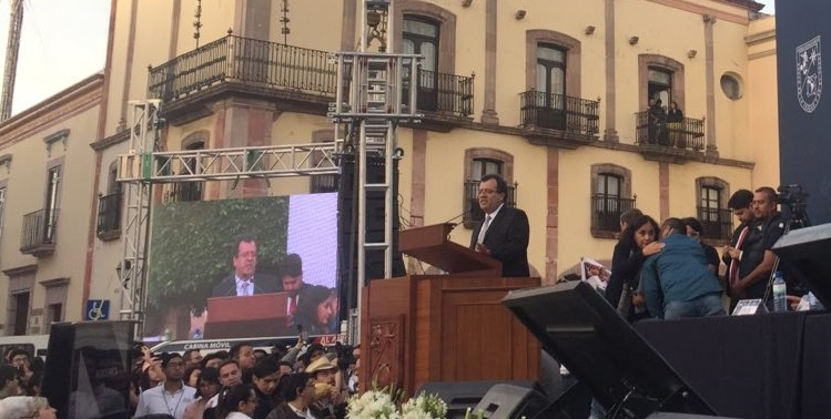 Gilberto Herrera 5° informe
