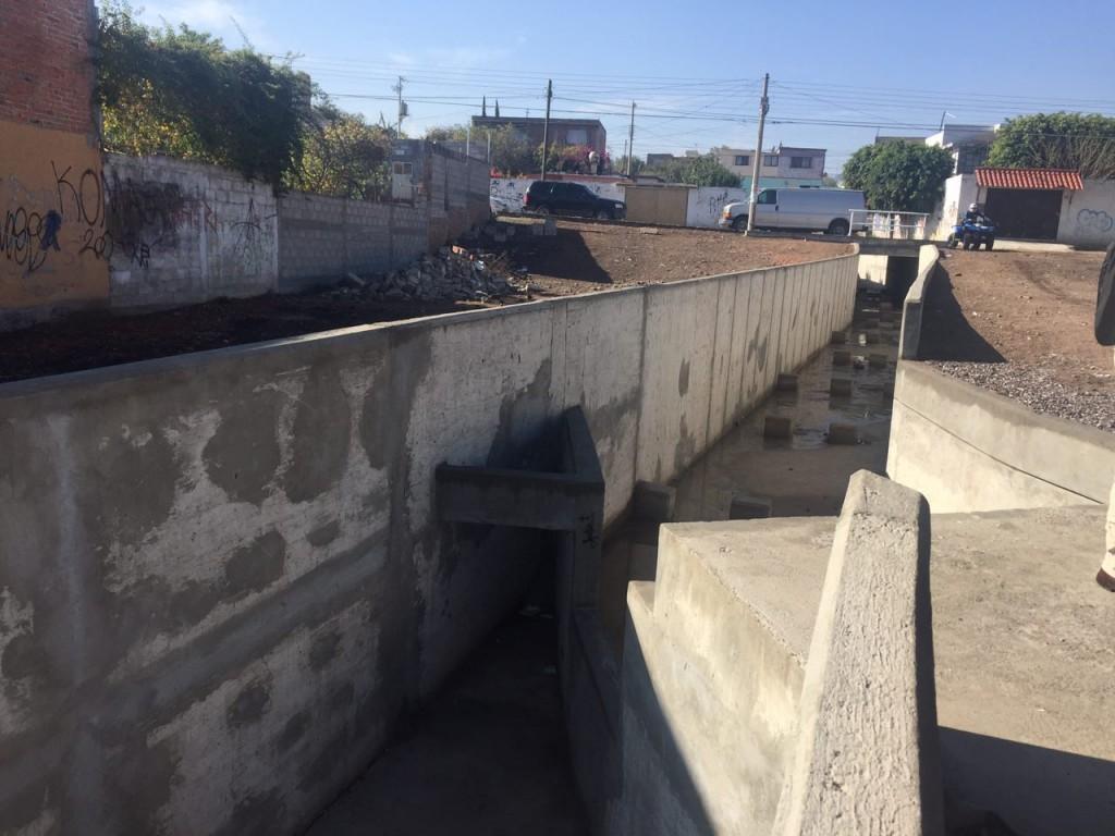 Obras pluviales San Juan del Rio