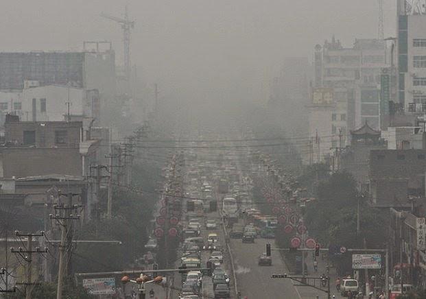 Linfen, China. La ciudad más contaminada del mundo.