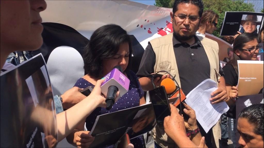 Protesta periodista