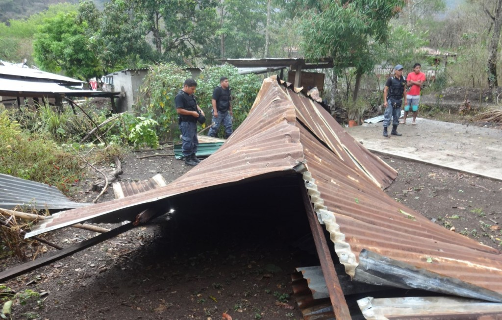 Fuertes vientos en Guatemala