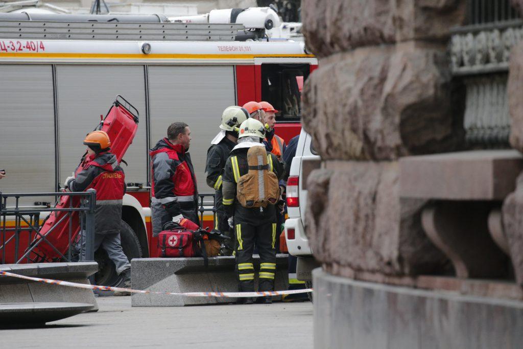 AL MENOS 10 MUERTOS EN UN ATENTADO TERRORISTA EN EL METRO DE SAN PETERSBURGO