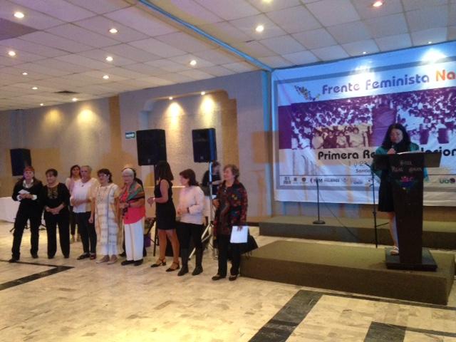 Frente Nacional Feminista reconoce en Querétaro a 101 mujeres destacadas
